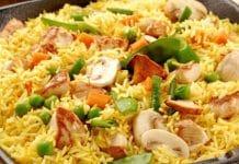 arroz a la valenciana