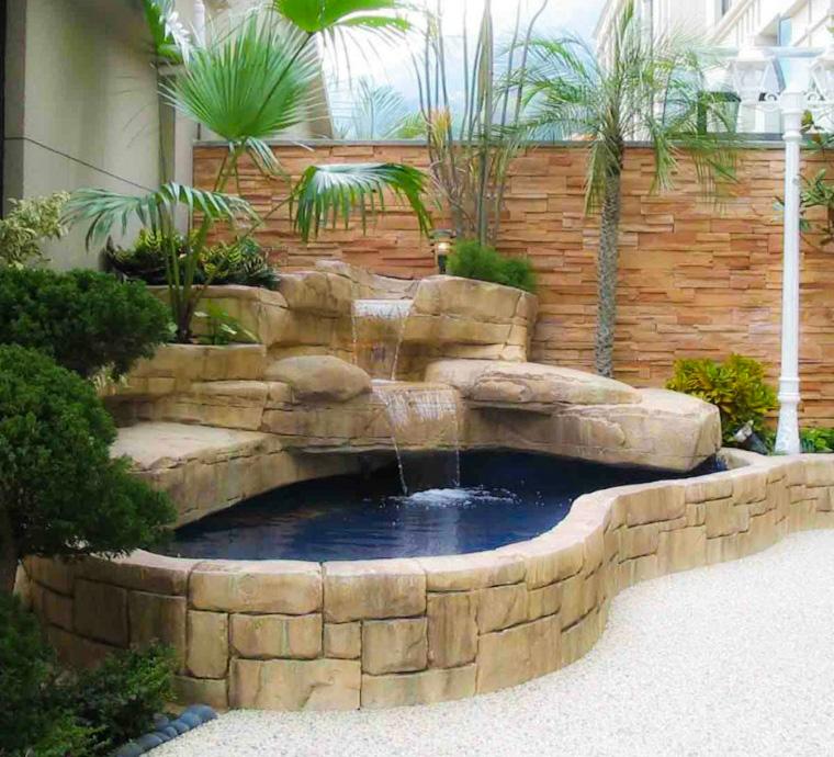La mejor decoraci n de jardines con piedras 3 ideas for Decoracion de piedras para jardin