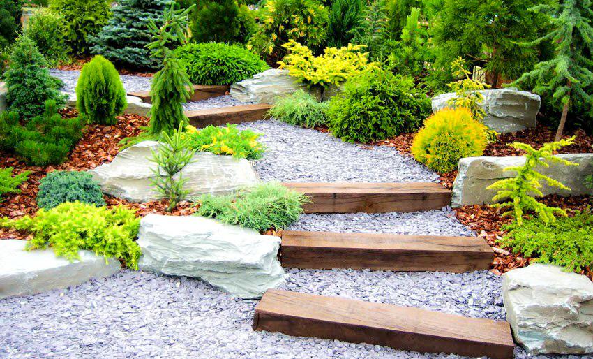 La mejor decoraci n de jardines con piedras 3 ideas for Caminerias de jardin