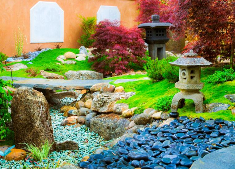 la mejor decoraci n de jardines con piedras 3 ideas