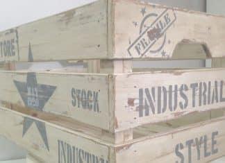 manualidades cajas de madera
