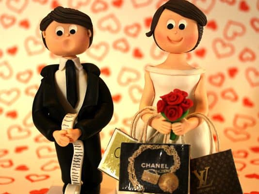 muñecos de bodas originales