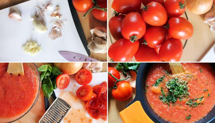 una salsa en 20 minutos con ingredientes simples