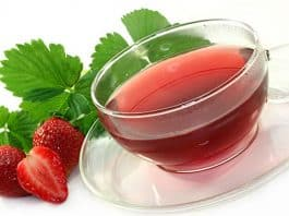 té de frutos rojos
