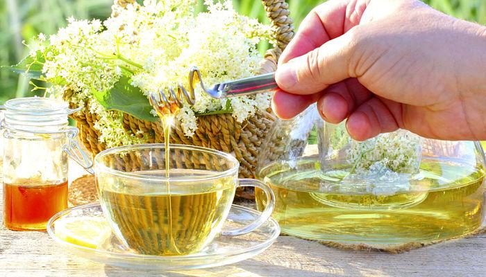 Resultado de imagen para Té verde con miel