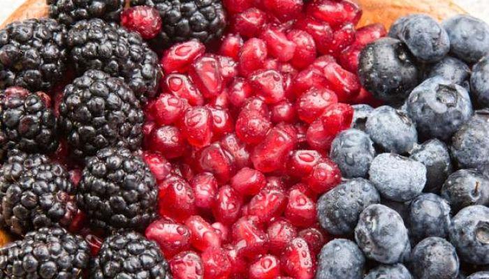 los frutos rojos una rica fuente de antioxidantes
