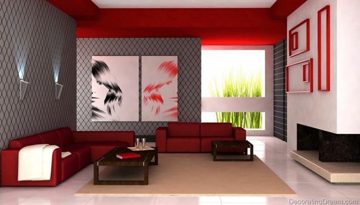 colores de salones modernos