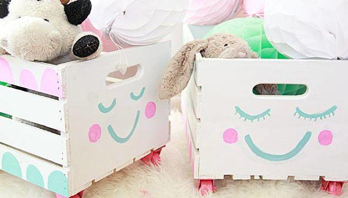 Como pintar una caja de madera ideas para decorar tu hogar - Cajas madera para manualidades ...