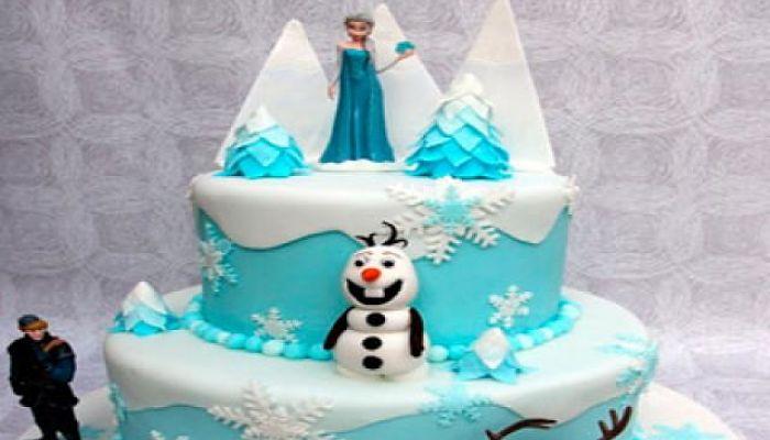 el pastel una pieza importante