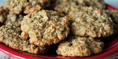 galletas de salvado de avena