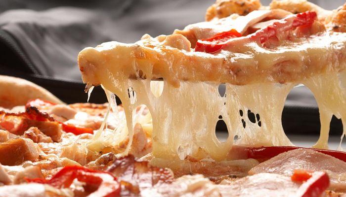 a disfrutar de tu pizza