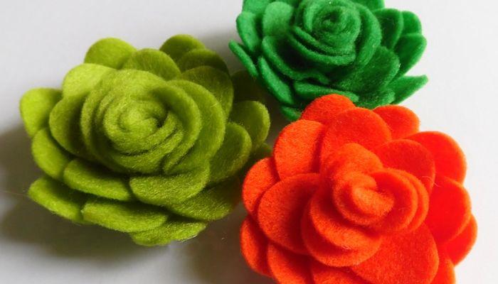 Flores voluminosas