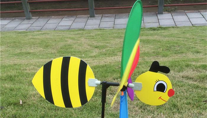 abejas coloridas