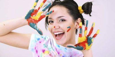 quitar manchas de pintura en ropa