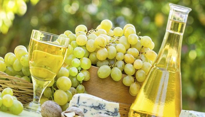 tipos de uva para vino blancas