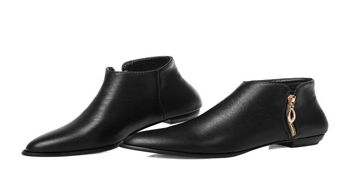 Zapatos negros Simple para mujer 3LNTmhukL