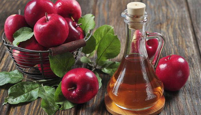 Como evitar la caída del cabello con el vinagre de manzana