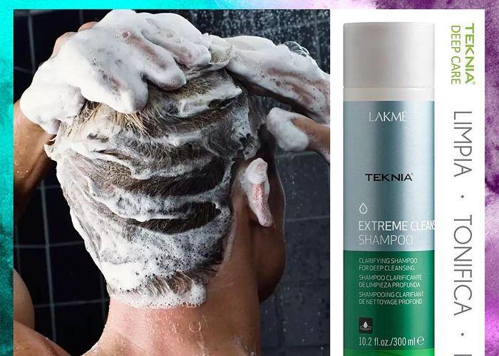 Shampoo para cabello graso