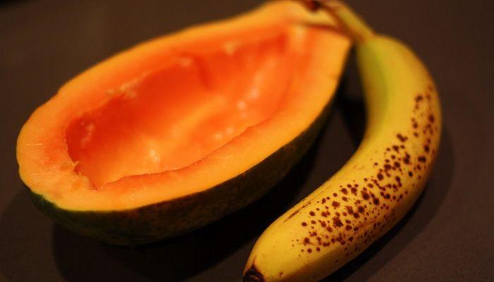 Tratamientos naturales para el cabello de papaya y platano