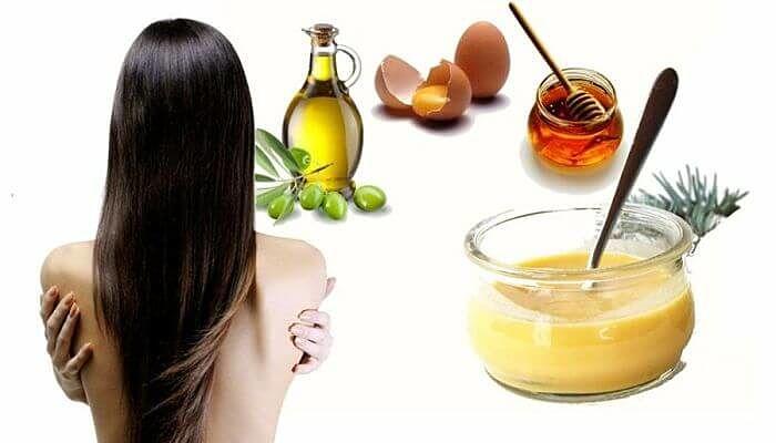 Tratamientos naturales para el cabello de aceite, miel y huevo
