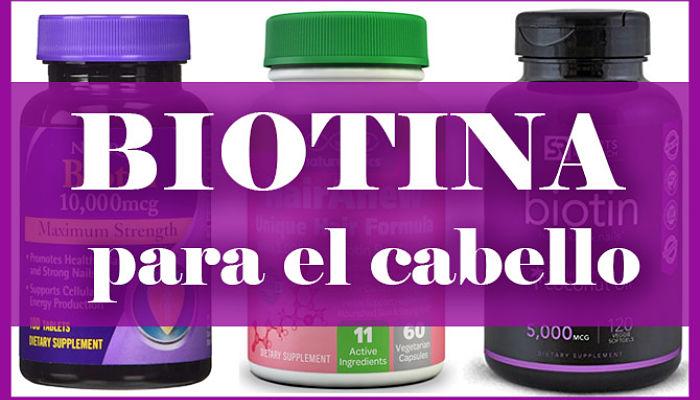 Biotina para el cabello que es
