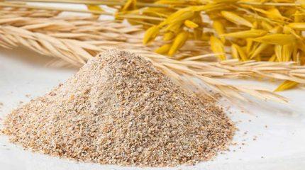 harina integral de trigo