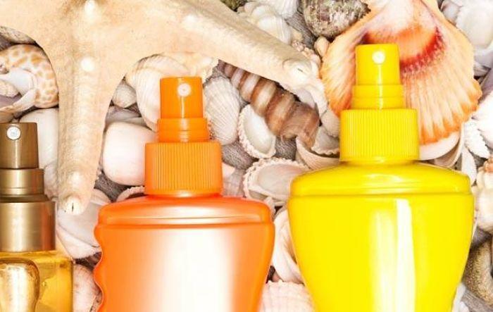 Aceites bronceadores para la piel